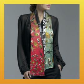 Zijden dames sjaal By Hendrik' Jheronimus Bosch