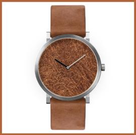 Silk horloge Koper Blad   Paulus van Leeuwen