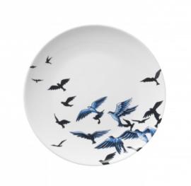 Sierbord 'Delftsblauwe vogels'