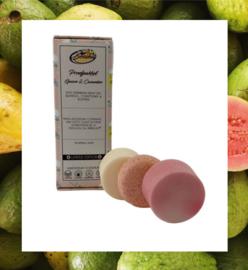 Zeep-bars voor lichaam en haar   Guave & komkommer