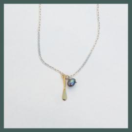 Ocean Republic zilveren halsketting