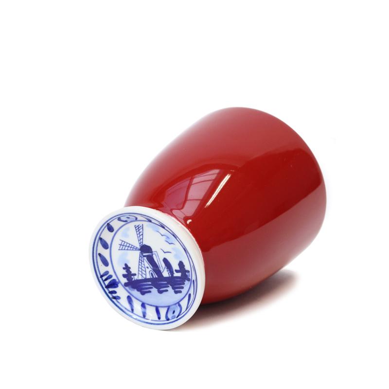 Delftsblauw mokje Rood   Hollandsche Waaren