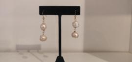Gold Filled Freshwater Pearl Earrings