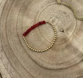 Red Gold Filled Bracelet