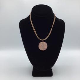 Ravishing Single Lava Stone Necklace - Leather Collection