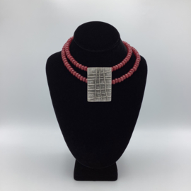 Jade Necklace with Anatolian Pendant