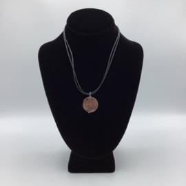 Ravishing Single Crazy Horse Stone Necklace - Leather Collection