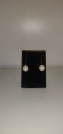 Rose Gold Freshwater Pearl Earrings