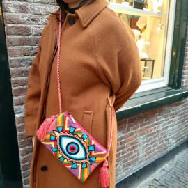Eye Handwoven Ecuadoran Bag