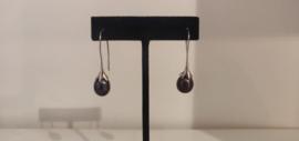 925 Sterling Silver Peacock Pearl Earrings