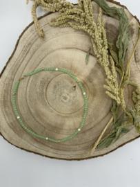 Chrysoprase Beaded Necklace