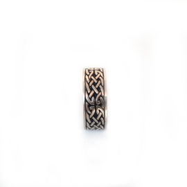 925 Sterling Silver Celtic Band Ring