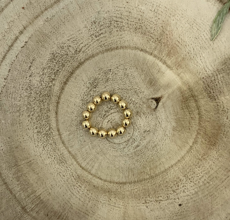 Gold Filled Bead Ring