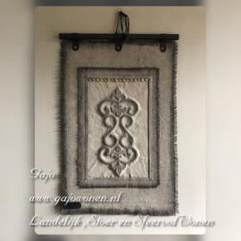 Kalkdoek met Ornament
