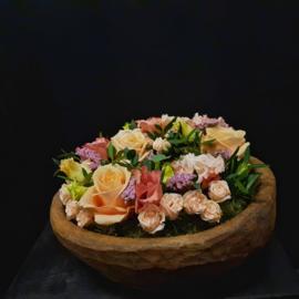 Verse Bloemen Krans 20 cm