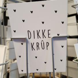 A6 kaart Dikke Krup