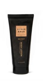 Scrub & Rub Body lotion secret