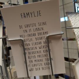 A6 kaart Famylje