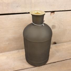 fles kandelaar elisa olijf groen