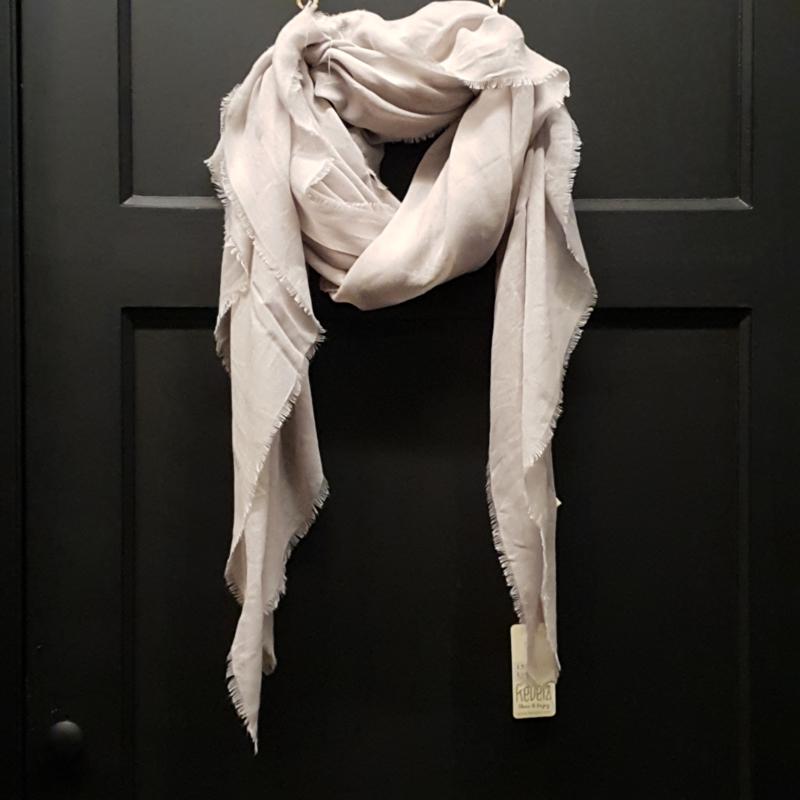 REVELZ sjaal light grey