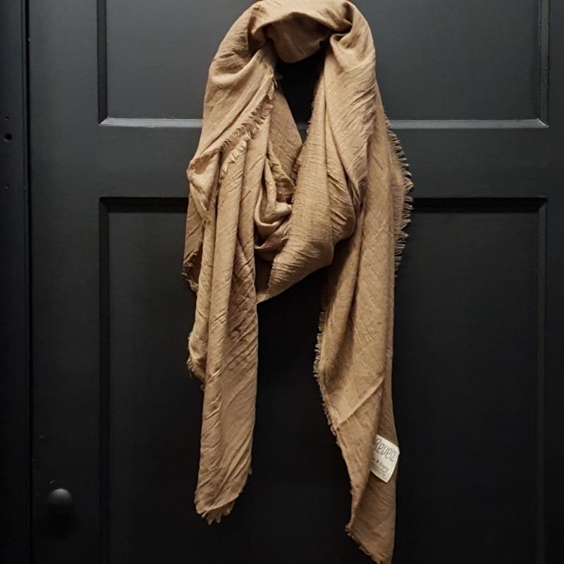 REVELZ sjaal hazelnut brown