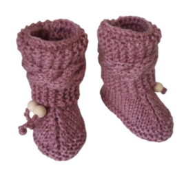 Booties oudroze