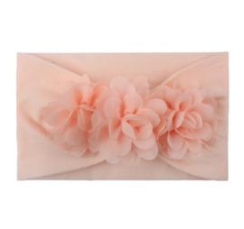 Haarband met bloemen