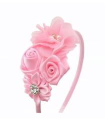 Diadeem luxe roze