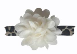 Haarband panter print velvet