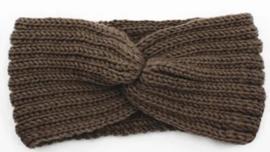 Haarband Twist bruin