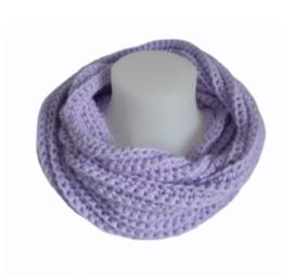 Colsjaal met haarband lavendel