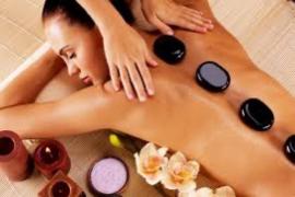 Rugverzorging (met hot-stone massage)