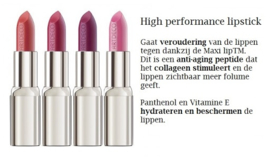 High performance lipstick