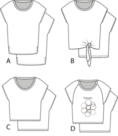 PDF Jersey tee Francis A, B, C and D