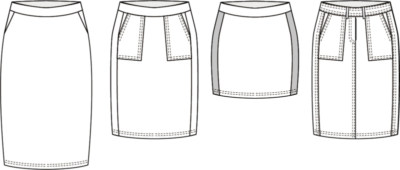 Thirza geprint patroon