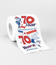 WC Papier - Toiletpapier - 70 jaar