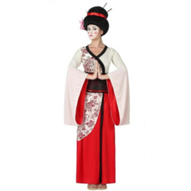 Geisha Deluxe Kostuum