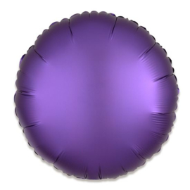 Folieballon rond satin koningspaars - 43 cm
