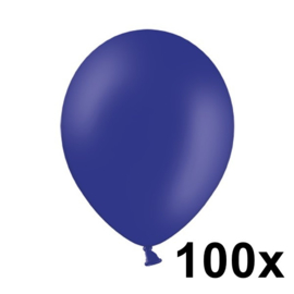 Pastel Nacht Blauw 100 Stuks
