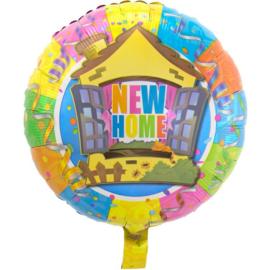 Nieuwe Woning - New Home Folieballon - 43 cm