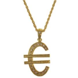 Ketting € groot goud