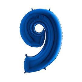 Cijfer 8 Blauw 100 cm