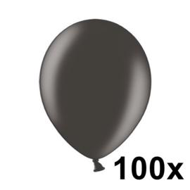 Metallic Zwart 100 Stuks