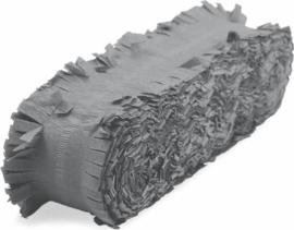 Crepeguirlande Zilver - 24 meter