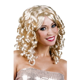 Pruik cocktail blond