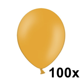 Pastel Oranje 100 Stuks