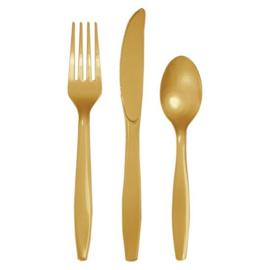 Bestek glittering gold (24st)