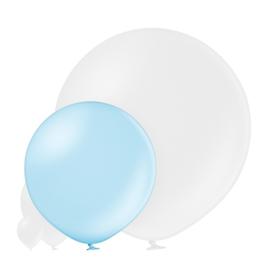 Metallic Licht Blauw 60 cm