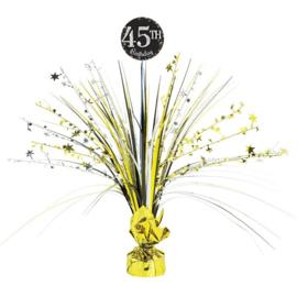 Glitterfeest Tafeldecoratie Personaliseerbaar - 46cm