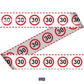 Markeerlint Verkeersbord 30 jaar